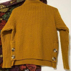 Madewell Dark Mustard Sweater